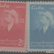 Timbres: LOTE C-SELLOS CUBA NUEVOS SIN CHARNELA. Lote 224973540