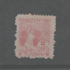 Francobolli: LOTE C- SELLO CUBA TELEGRAFOS. Lote 224988370