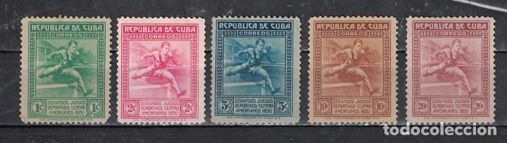 75-2 CUBA 1930 NG THE 2ND CENTRAL AMERICAN GAMES, HAVANA (Sellos - Extranjero - América - Cuba)