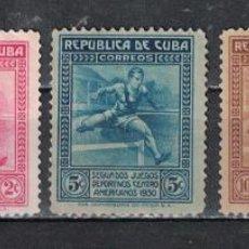 Sellos: 75-2 CUBA 1930 NG THE 2ND CENTRAL AMERICAN GAMES, HAVANA. Lote 226334173