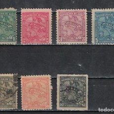 Sellos: 28-3 CUBA 1914 U MAP OF CUBA. Lote 226334193