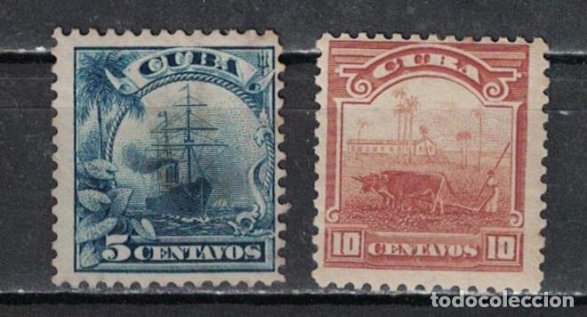 11-2 CUBA 1905 NG COUNTRY SCENES - RE-ENGRAVED WITHOUT WATERMARKED (Sellos - Extranjero - América - Cuba)
