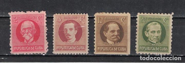 49-4 CUBA 1926 NG POLITICIANS (Sellos - Extranjero - América - Cuba)