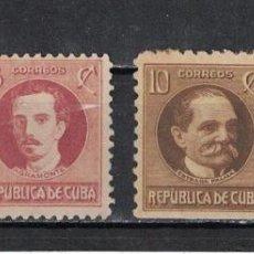 Sellos: 49-4 CUBA 1926 NG POLITICIANS. Lote 226334223