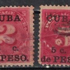 Sellos: 1 CUBA 1900 U UNITED STATES POSTAGE DUE STAMPS SURCHARGED. Lote 226334243