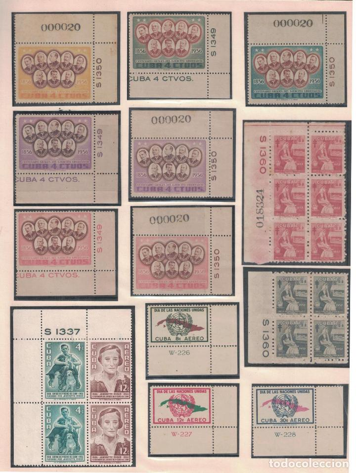 Sellos: kol-cu27 Cuba NG Unique collection of postage stamps with numbering - Foto 2 - 226334348