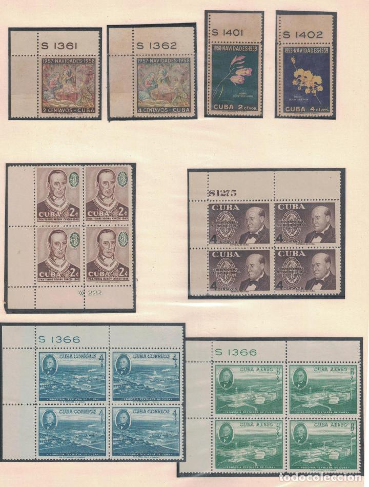Sellos: kol-cu27 Cuba NG Unique collection of postage stamps with numbering - Foto 3 - 226334348