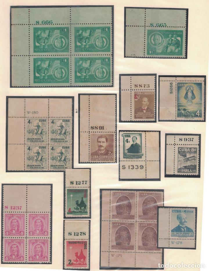 Sellos: kol-cu27 Cuba NG Unique collection of postage stamps with numbering - Foto 5 - 226334348