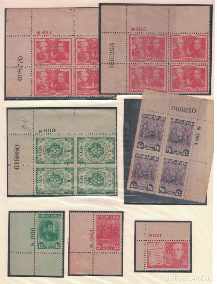 Sellos: kol-cu27 Cuba NG Unique collection of postage stamps with numbering - Foto 6 - 226334348