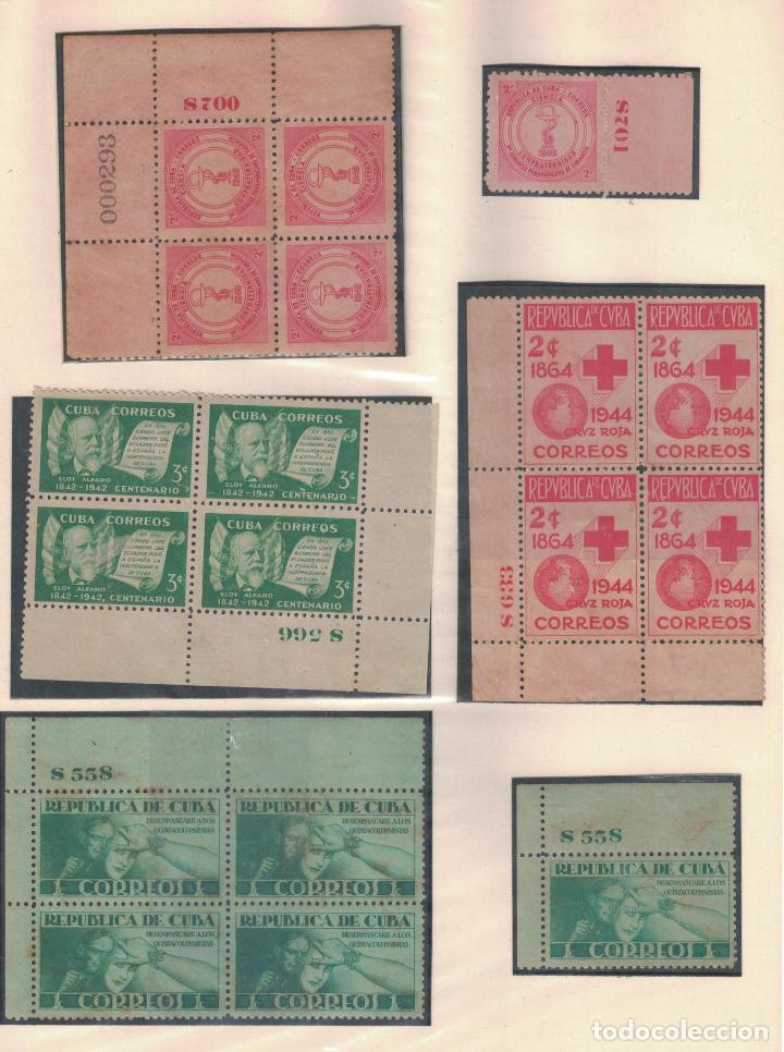 Sellos: kol-cu27 Cuba NG Unique collection of postage stamps with numbering - Foto 7 - 226334348