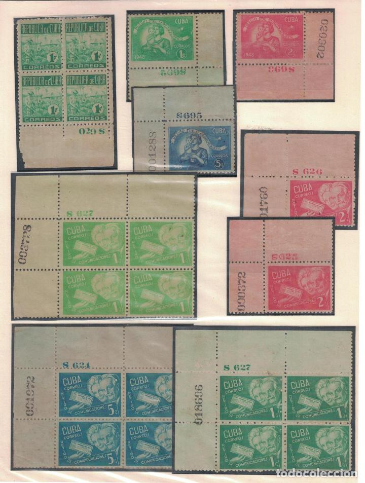 Sellos: kol-cu27 Cuba NG Unique collection of postage stamps with numbering - Foto 8 - 226334348