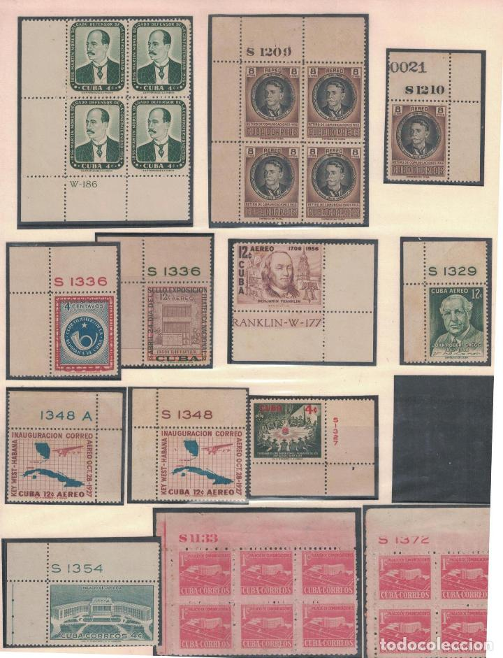 KOL-CU27 CUBA NG UNIQUE COLLECTION OF POSTAGE STAMPS WITH NUMBERING (Sellos - Extranjero - América - Cuba)