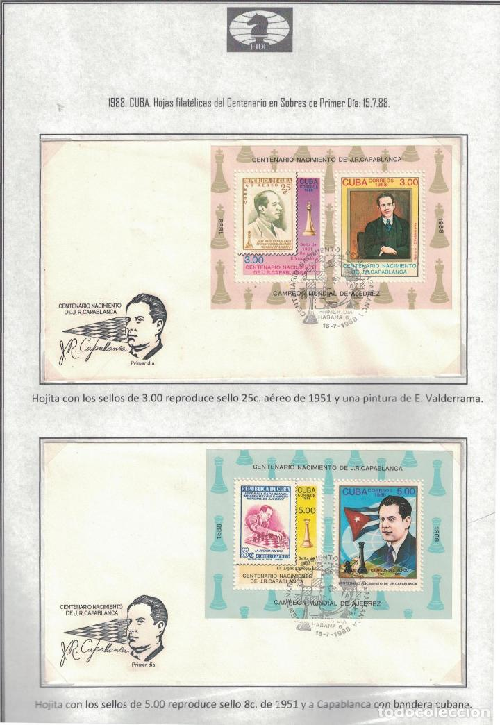 Sellos: kol-cu28 Cuba NG Postage stamps on the theme of chess - varieties. Rarity - Foto 4 - 226334360