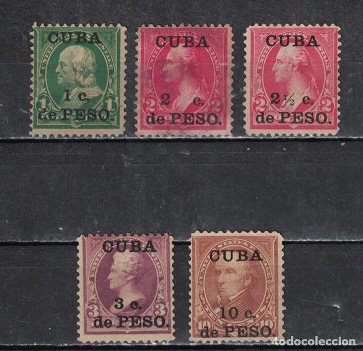 23 CUBA 1899 NG UNITED STATES POSTAGE STAMPS SURCHARGED (Sellos - Extranjero - América - Cuba)
