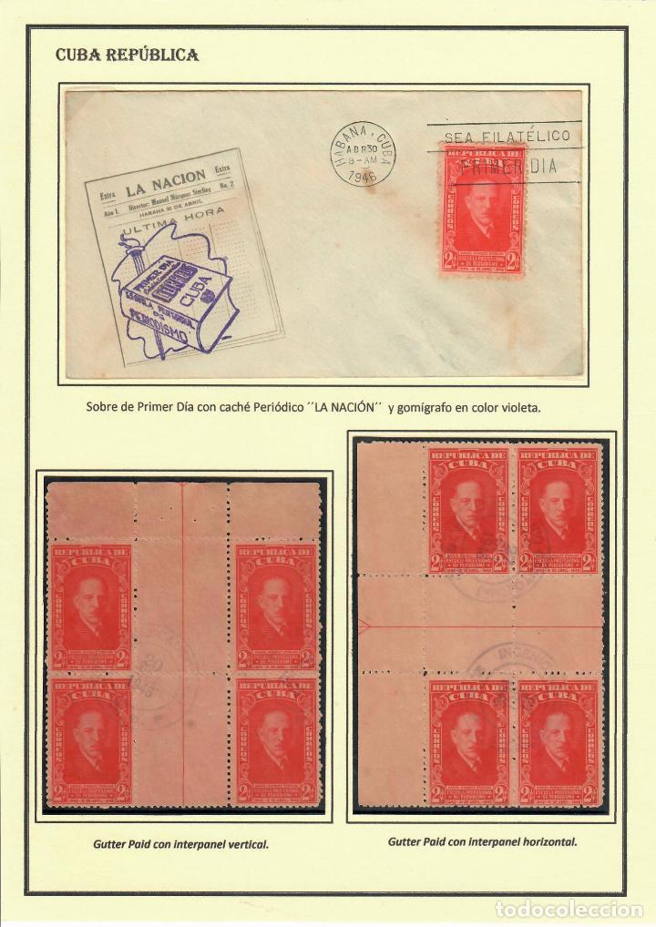 Sellos: kol-207 Cuba 1946 Founding of Manuel Marquez Sterling School of Journalism - Foto 4 - 226334468