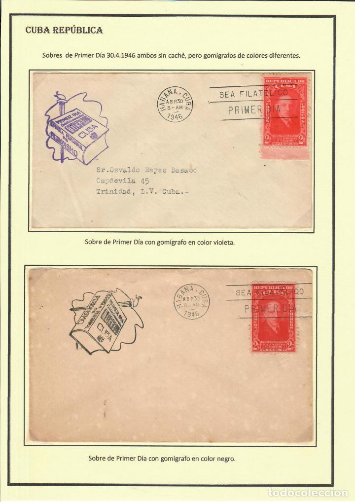 Sellos: kol-207 Cuba 1946 Founding of Manuel Marquez Sterling School of Journalism - Foto 5 - 226334468