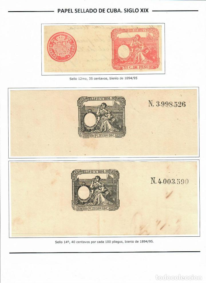 Sellos: kol-cu16 Cuba Postage stamps of Cuba - Foto 8 - 226334493