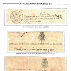 Sellos: KOL-CU16 CUBA POSTAGE STAMPS OF CUBA. Lote 226334493