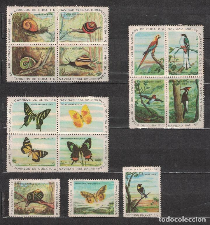 732 CUBA 1961 MLH CHRISTMAS (Sellos - Extranjero - América - Cuba)