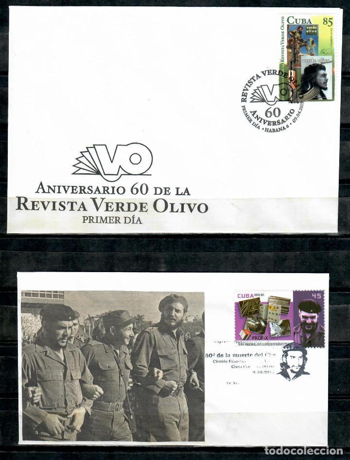 Sellos: kol-cu10 Cuba Collection 4 - Ernesto Che Guevara - Foto 2 - 226335345