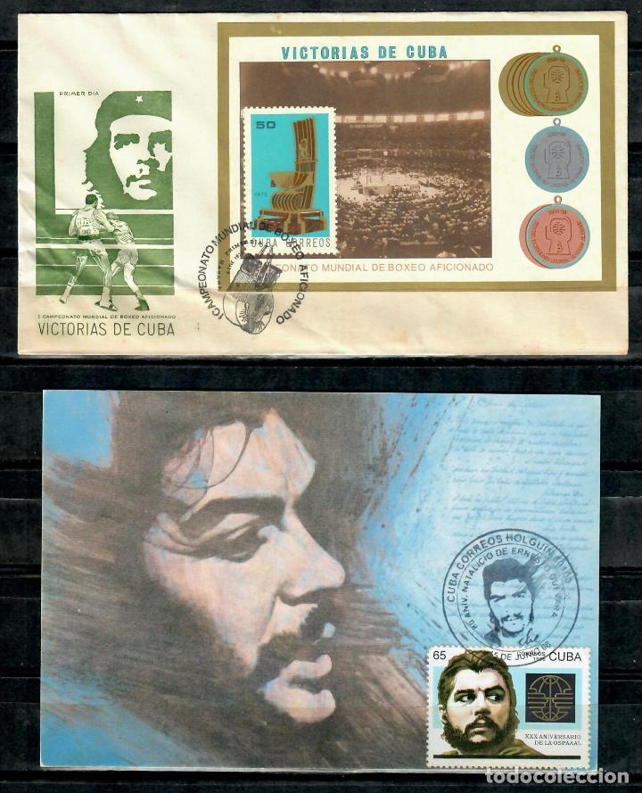 Sellos: kol-cu10 Cuba Collection 4 - Ernesto Che Guevara - Foto 4 - 226335345
