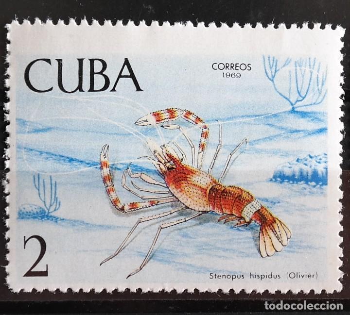 Sellos: 7 Sellos Cuba. 1969 Crustáceos - Foto 4 - 227781785