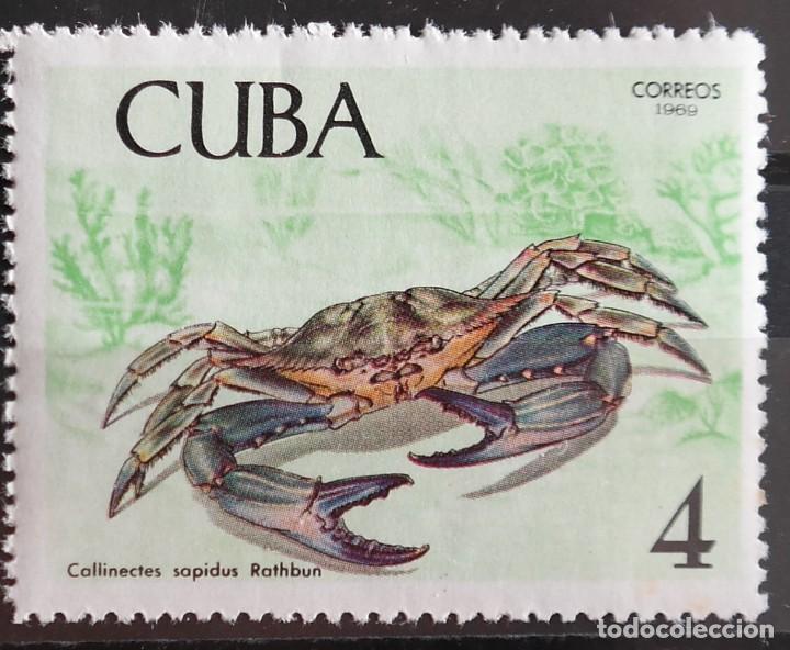 Sellos: 7 Sellos Cuba. 1969 Crustáceos - Foto 6 - 227781785