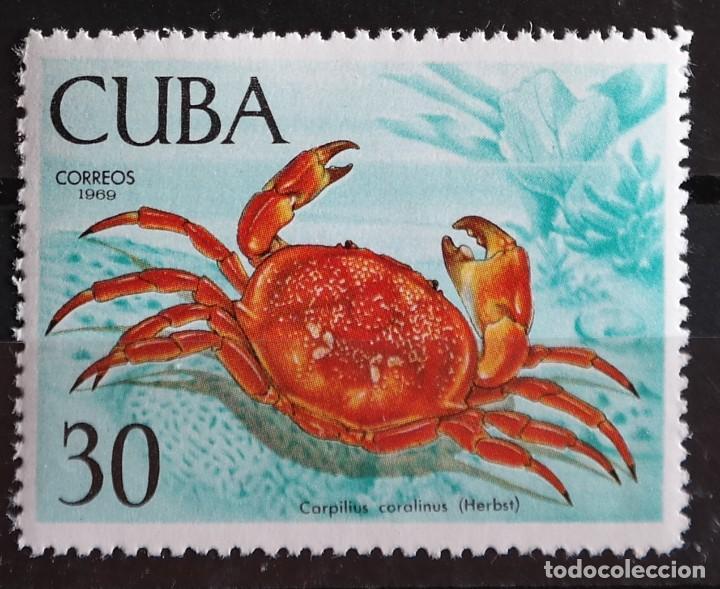 Sellos: 7 Sellos Cuba. 1969 Crustáceos - Foto 7 - 227781785