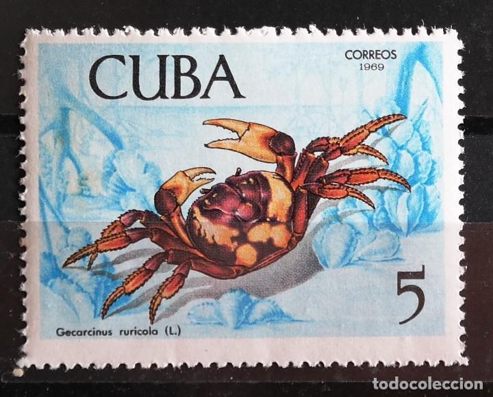 Sellos: 7 Sellos Cuba. 1969 Crustáceos - Foto 9 - 227781785