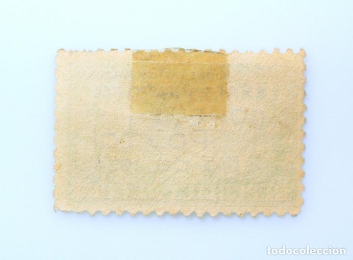 Sellos: SELLO POSTAL CUBA 1939, 10 ¢, EXPERIMENTO DEL COHETE POSTAL, USADO - Foto 2 - 230614880