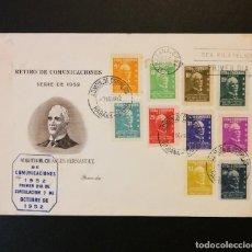 """Timbres: CUBA 1952. FDC. SOBRE PRIMER DIA. """"RETIRO COMUNICACIONES"""" . CORONEL CHARLES HERNANDEZ. Lote 233618240"""