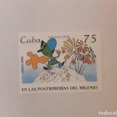 Sellos: AÑO 1998 CUBA SELLO USADO. Lote 234899630