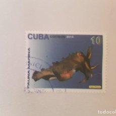 Sellos: AÑO 2014 CUBA SELLO USADO. Lote 234899730