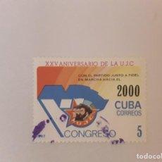 Sellos: AÑO 2000 CUBA SELLO USADO. Lote 234900065