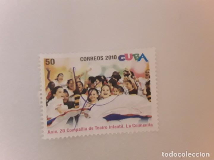 AÑO 2010 CUBA SELLO USADO (Sellos - Extranjero - América - Cuba)