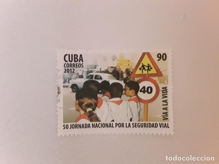 AÑO 2012 CUBA SELLO USADO (Sellos - Extranjero - América - Cuba)