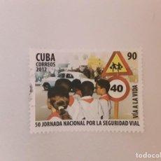 Sellos: AÑO 2012 CUBA SELLO USADO. Lote 234900380