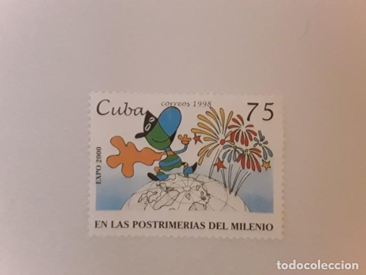 AÑO 1998 CUBA SELLO USADO (Sellos - Extranjero - América - Cuba)