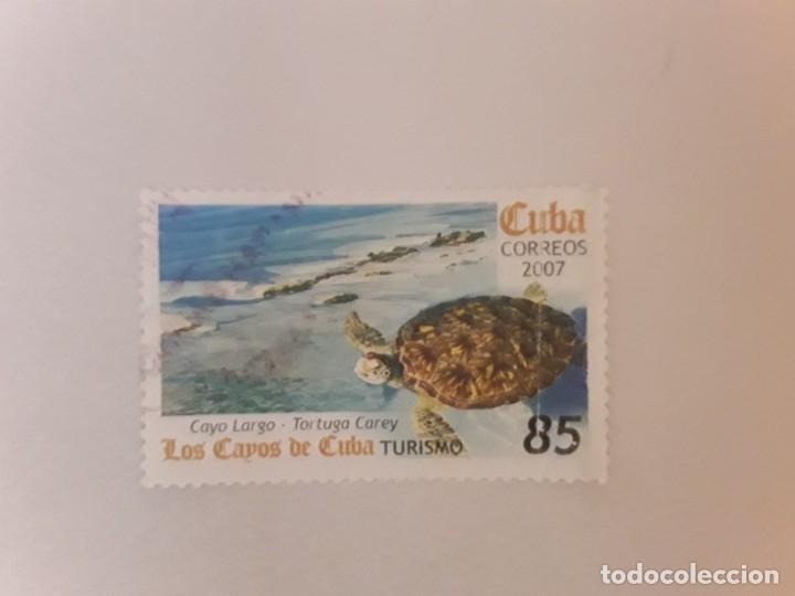 AÑO 2007 CUBA SELLO USADO (Sellos - Extranjero - América - Cuba)