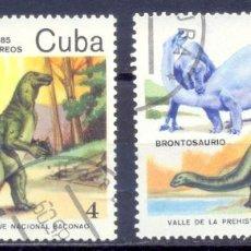 Sellos: CUBA,1985 SELLOS PREOBLITERADOS. Lote 235881065
