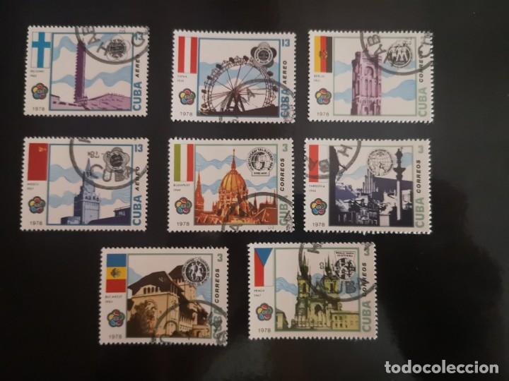 8 SELLOS DE CUBA 1978 (Sellos - Extranjero - América - Cuba)