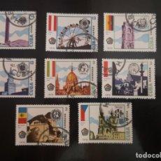 Sellos: 8 SELLOS DE CUBA 1978. Lote 239754900