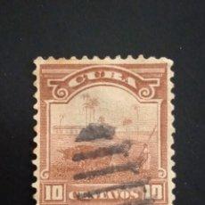 Sellos: REPUBLICA DE CUBA 10 CENTAVOS, AGRICULTURA AÑO 1899.. Lote 243053640