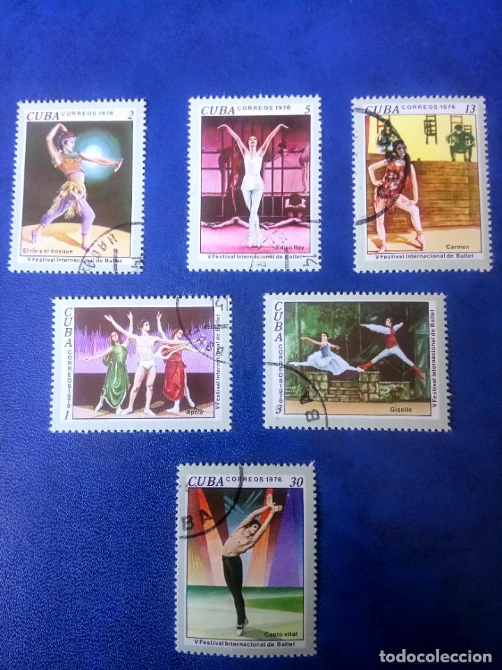 CUBA, V FESTIVAL INTERNACIONAL DE BALET, 1976 (Sellos - Extranjero - América - Cuba)