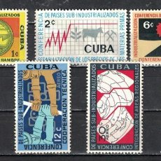 Francobolli: ⚡ DISCOUNT CUBA 1961 THE SUB-INDUSTRIALIZED COUNTRIES CONFERENCE NG - PRODUCTION. Lote 255636070