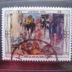 Sellos: *CUBA, 1975, MUSEO NACIONAL, OBRA DE MARIANO FORTUNY, YVERT 1825. Lote 255978840