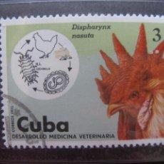 Sellos: *CUBA, 1975, DESARROLLO DE LA MEDICINA VETERINARIA, YVERT 1888. Lote 255979440