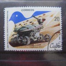 Sellos: *CUBA, 1982, USO PACIFICO DEL ESPACIO ULTRATERRESTRE, YVET 2356. Lote 255985750