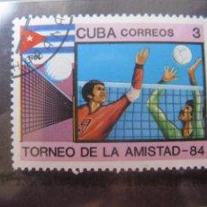 Sellos: *CUBA, 1984, TORNEO DE LA AMISTAD, YVERT 2566. Lote 255986925