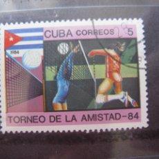 Sellos: *CUBA, 1984, TORNEO DE LA AMISTAD, YVERT 2567. Lote 255987015